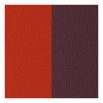 Les Georgettes Burnt Orange Or Warm Brown Reversable Leather