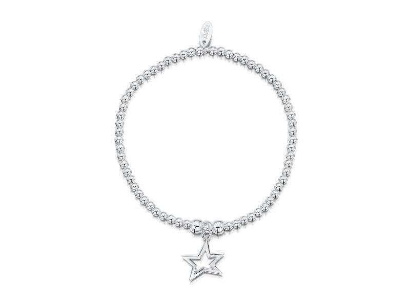 Product standard a015   dollie    dollie silver open star bracelets    silver