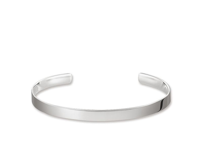 Product standard ar087 001 12 m   thomas sabo   ts silver cuff 16cm   silver   4051245225914