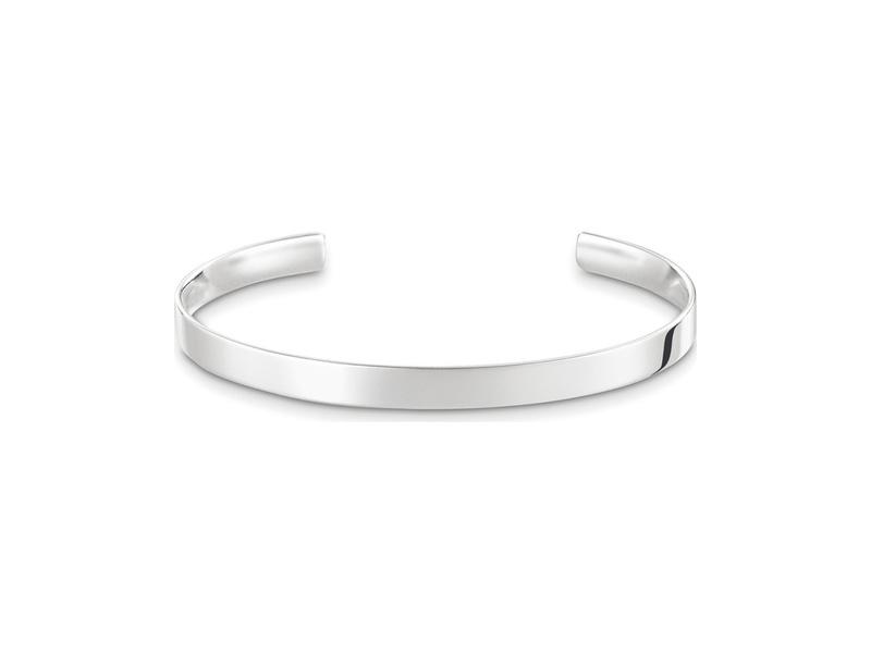 Product standard ar087 001 12 xl   thomas sabo   ts silver cuff 18cm   silver   4051245225938