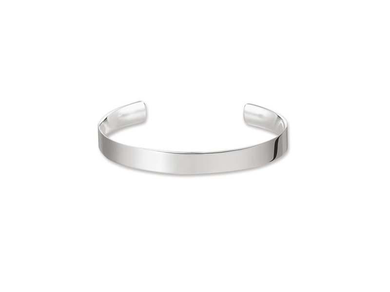 Product standard ar088 001 12 xl   thomas sabo   ts silver cuff 18cm   silver   4051245226089