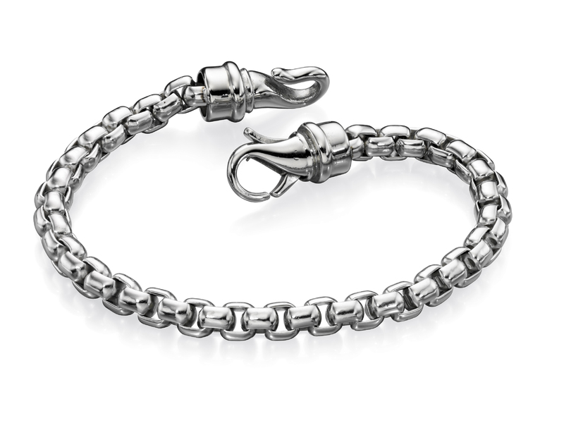 Product standard b4563   fourth avenue   our stainless steel large belcher chain bracelets   stainless steel   5055067224697