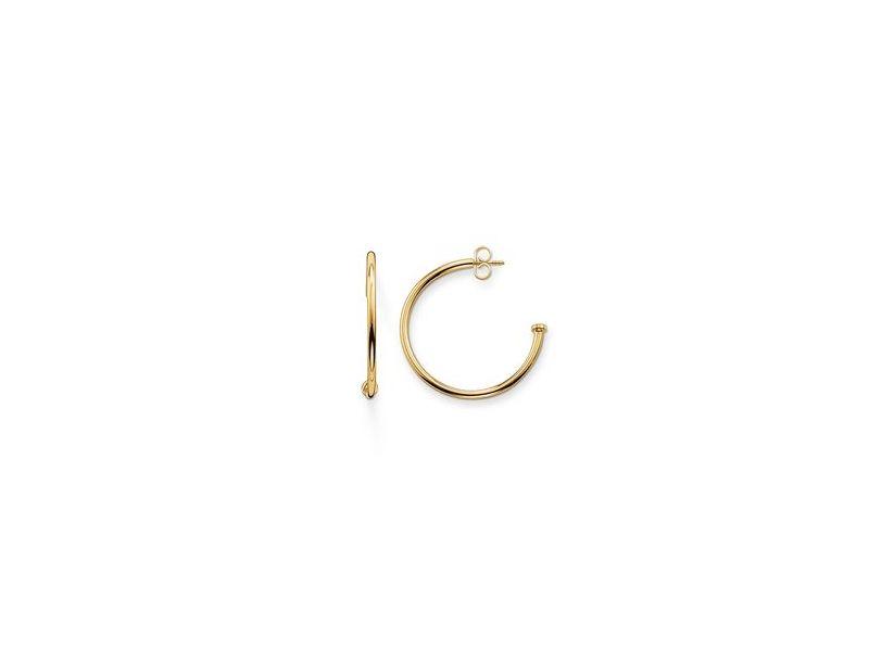 Product standard cr590 413 12   thomas sabo   ts gold 34 hoop earrings    gold   4051245110692