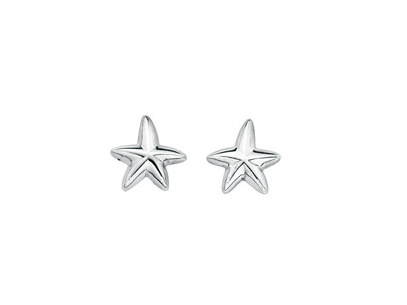 Product standard e3199   fourth avenue   our silver starfish stud earrings   silver   5055067121279