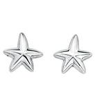 Fourth Avenue Silver Starfish Stud Earrings