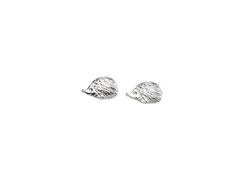 Product standard e5368   fourth avenue   our silver hedgehog stud earrings   silver