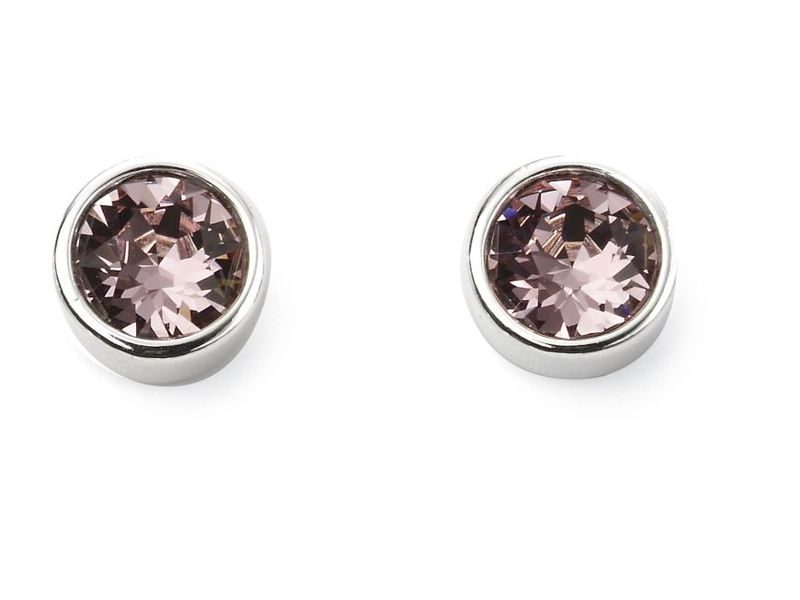 Product standard e5563   fourth avenue   our silver stud earrings    silver