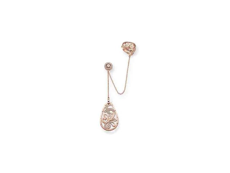 Product standard ec0007 416 14   thomas sabo   ts rose gold   cz ornate ear cuff    rose gold   4051245110753
