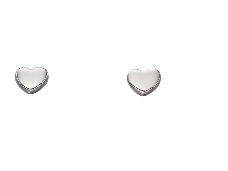 Product standard ge2178   fourth avenue   our white gold small heart studs earrings   white gold