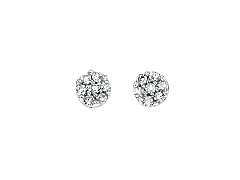 Product standard ge734   fourth avenue   our white gold   diamond cluster stud earrings   white gold   5055067175180