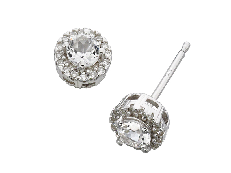 Product standard ge892c   fourth avenue   our white gold topaz   diamond cluster stud earrings   white gold   5055067176330