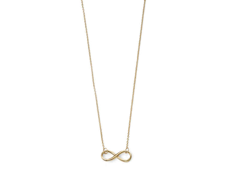Product standard gn231   fourth avenue   our gold infinity necklaces    gold