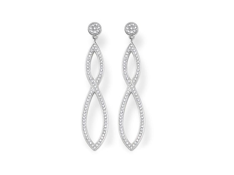 Product standard h1831 051 14   thomas sabo   ts silver   cz love drop earrings    silver   4051245129243