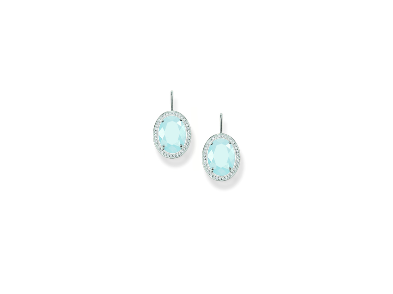 Product standard h1844 694 31   thomas sabo   ts silver   cz blue oval drop earrings    silver