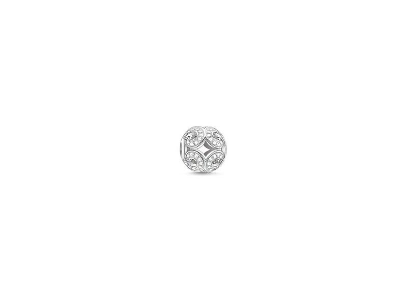 Product standard k0012 051 14   thomas sabo   ts silver   cz wave karma bead    silver   4051245110937