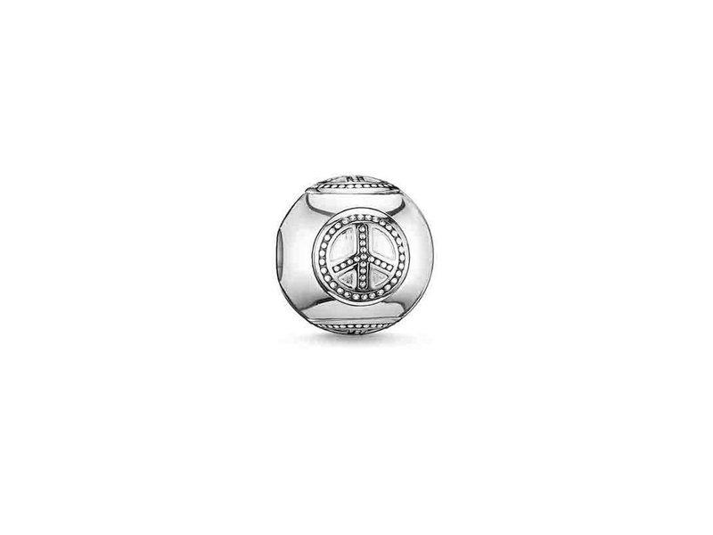 Product standard k0032 001 12   thomas sabo   ts silver peace karma bead    silver   4051245111132