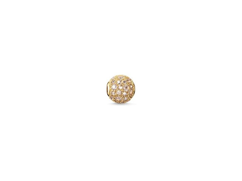 Product standard k0098 414 3   thomas sabo   ts gold   cz crushed pave bead    gold   4051245129502