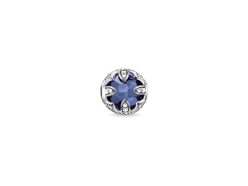 Product standard k0142 640 32   thomas sabo   ts silver   cz blue lotus karma bead    silver