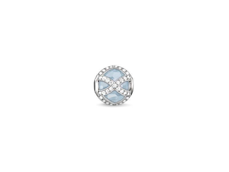 Product standard k0145 694 31   thomas sabo   ts silver   cz blue marharani karma bead    silver