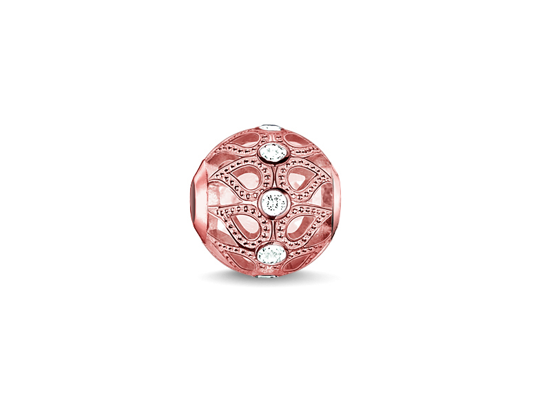 Product standard k0146 416 14   thomas sabo   ts rose gold   cz dew drops karma bead    rose gold