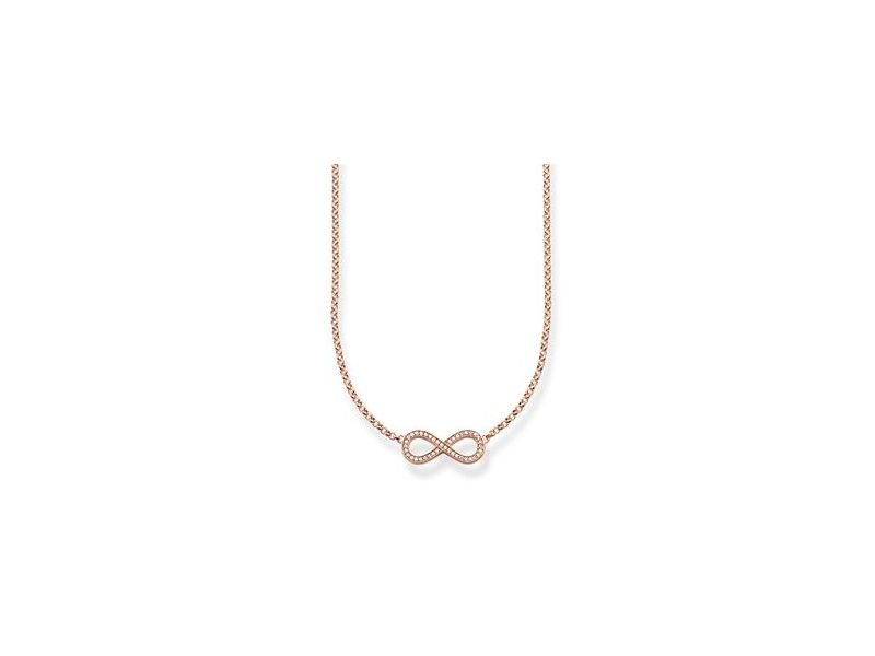 Product standard ke1312 416 14   thomas sabo   ts rose gold   cz infinity necklaces    rose gold   4051245129816