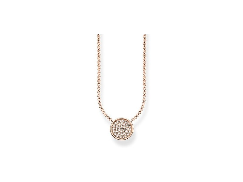 Product standard ke1491 416 14 l45v   thomas sabo   ts rose gold   cz disk pendants    rose gold   4051245226485