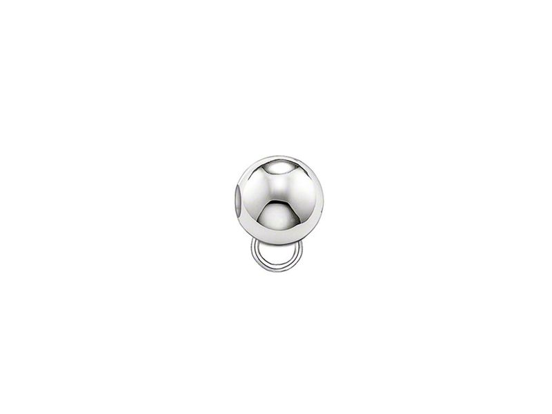 Product standard kx0001 001 12   thomas sabo   ts silver round stopper    silver   4051245118254