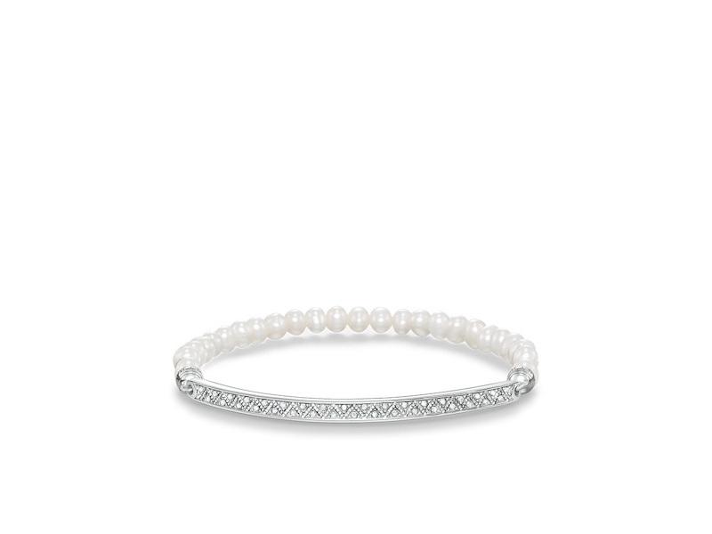 Product standard lba0003 167 14 l17.5   thomas sabo   ts silver   cz pearl bracelets    silver   4051245196894