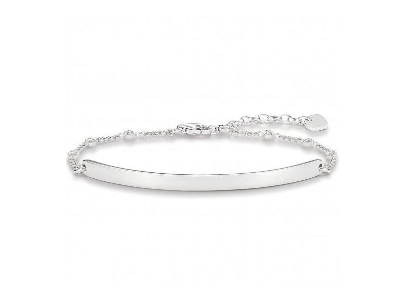 Product standard lba0040 051 14 l19.5v   thomas sabo   ts silver lovebridge bracelets    silver   4051245223651