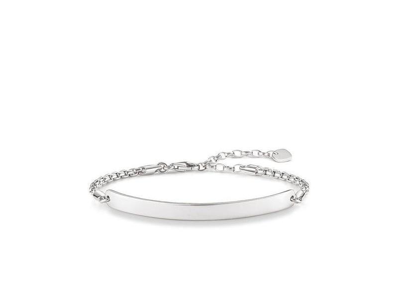 Product standard lba0047 001 12 l19.5v   thomas sabo   silver engravable beacelet    silver