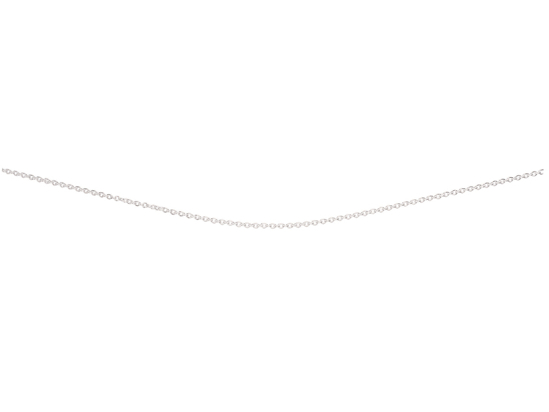 Product standard n193   fourth avenue   our silver trace chain necklaces    silver