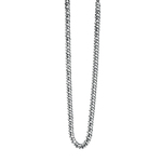 Fourth Avenue Stainless Steel Curb Chain Necklace