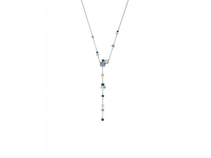 Product standard n4211   fourth avenue   our silver   bluewhite opal y necklaces    silver