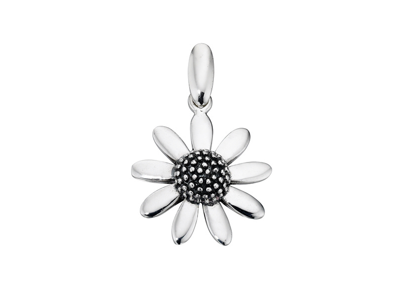 Product standard p3147   fourth avenue   our silver flower pendants   silver   5055067143080
