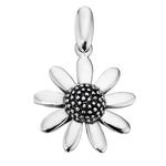 Fourth Avenue Silver Flower Pendant