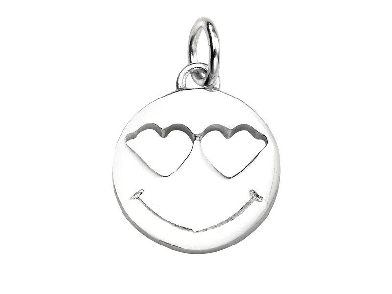 Product standard p4452   fourth avenue   our silver heart eyes emoji pendants   silver