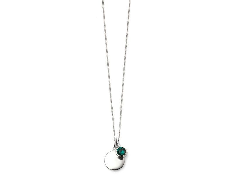 Product standard p4594   fourth avenue   our silver may birthstone pendants    silver