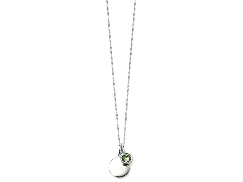 Product standard p4597   fourth avenue   our silver august birthstone pendants    silver
