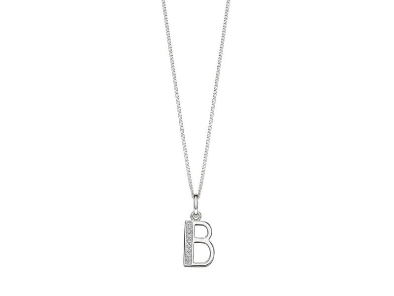Product standard p4724c   fourth avenue   our silver   cz b pendants %2b chain   silver
