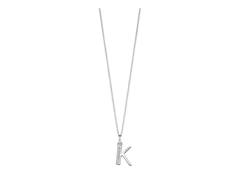 Product standard p4733c   fourth avenue   our silver   cz k pendants %2b chain   silver