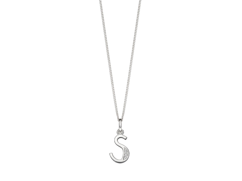 Product standard p4741c   fourth avenue   our silver   cz s pendants %2b chain   silver