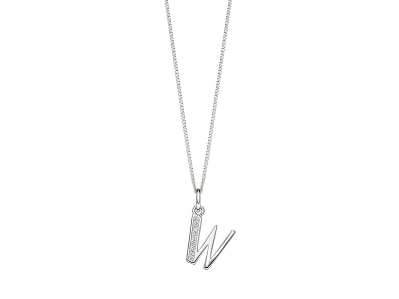 Product standard p4745c   fourth avenue   our silver   cz w pendants %2b chain   silver