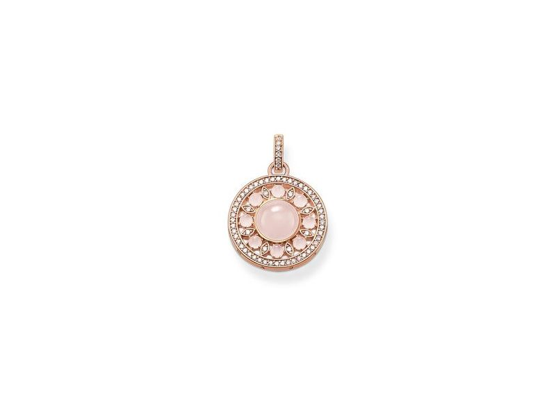 Product standard pe562 417 9   thomas sabo   ts rose gold   quartz glam soul pendants    rose gold