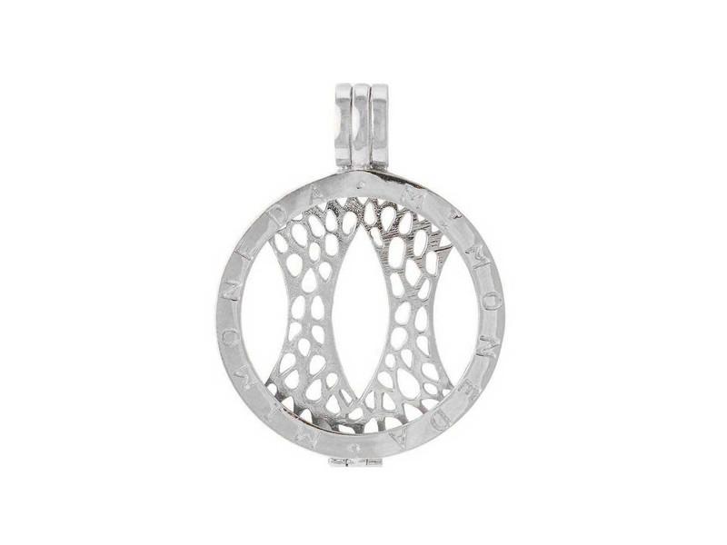 Mi Moneda Silver Small Delux Holder Pendant