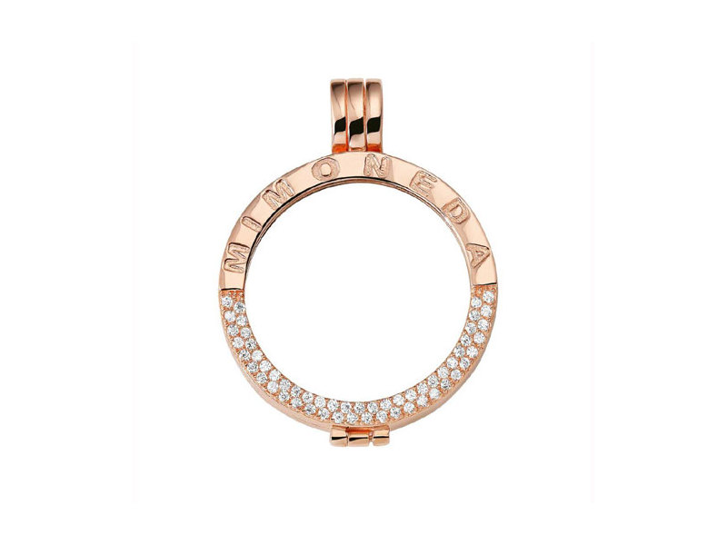 Product standard pen lu 03 s   fourth avenue   mm rose gold plated small delux holder pendants   rose gold