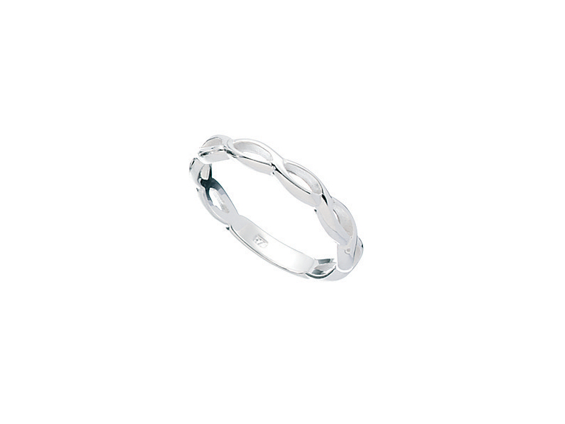 Product standard r051   fourth avenue   our silver open twist ring    silver   5055067183222