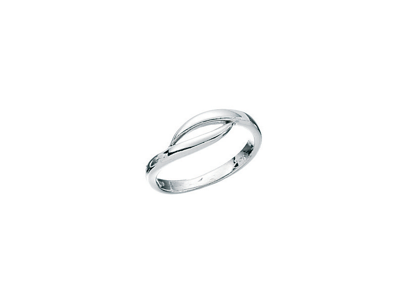 Product standard r2383   fourth avenue   our silver simple loop ring    silver   5055067183437