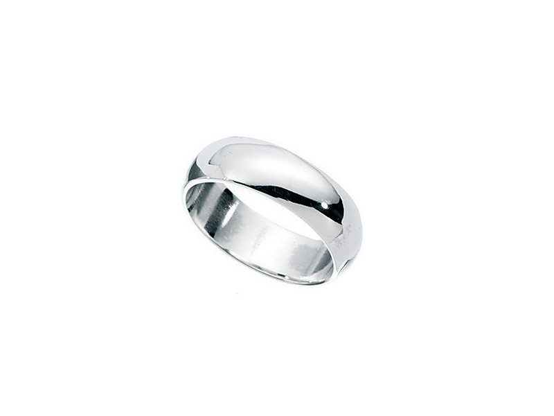 Product standard r276   fourth avenue   our silver plain band ring   silver   5055067183642