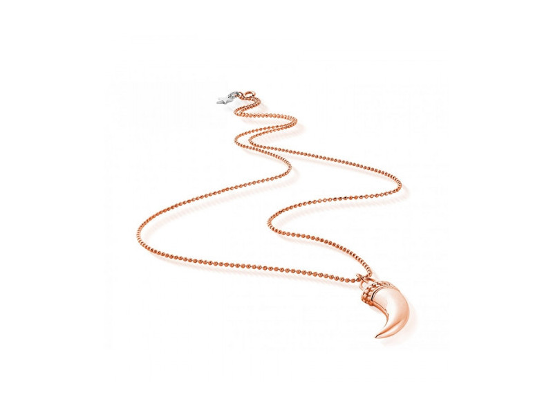 Product standard rosetuskpendants   fourth avenue   rose gold plated tusk pendants   rose gold