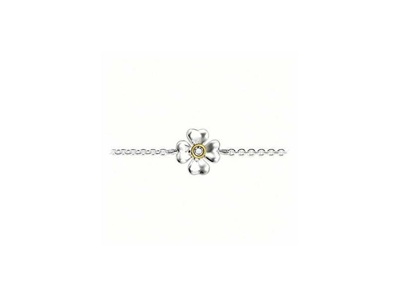 Product standard sd a0001 179 14   thomas sabo   ts silver   gold clover bracelets    silver   4051245049695
